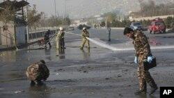 Vụ đánh bom tự sát đã giết chết ít nhất 4 người và làm bị thương nhiều người khác ở Kabul.