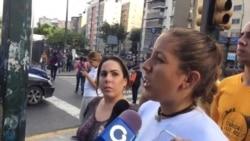 Jóvenes venezolanos no apoyan Asamblea Nacional Constituyente del gobierno