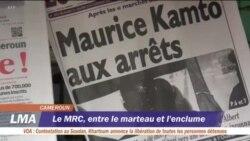 L'opposition, les ONG et la presse dénoncent l'arrestation de Maurice Kamto