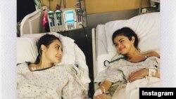 """""""No hay palabras para describir cómo puedo agradecer a mi bella amiga Francia Raisa. Ella me dio el máximo regalo y sacrificio al donarme su riñón"""", escribió Selena Gómez en su cuenta de Instagram."""