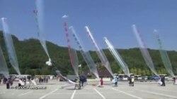 Северная и Южная Корея: конфликт вокруг воздушных шаров