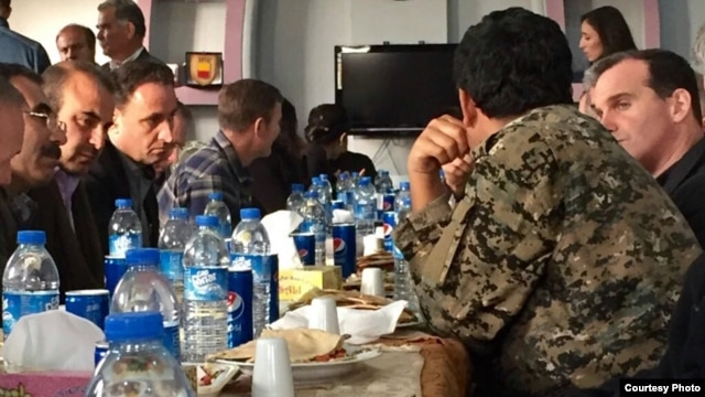 U.S. Presidential Envoy to Anti-Islamic State Coalition Brett McGurk visited Syria during the weekend to meet with local leaders, officials said Feb. 1, 2016. (Brett McGurk/Twitter)