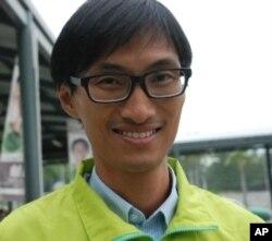 香港區議會選舉候選人朱凱迪