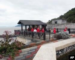 马祖的中国大陆游客