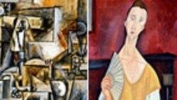 پنج تابلو از آثار پیکاسو، ماتیس و مادیلیانی به ارزش ٦٠٠ میلون دلار از موزه ای در پاریس دزدیده شد