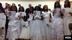 Bishop Fikremariam Hagos with First Communion