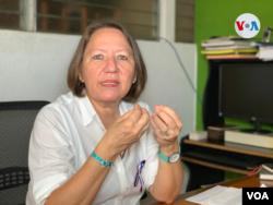 María Teresa Blandón, directora de la oenegé La Corriente, afirma que Ortega quiere desmantelar las organizaciones de la sociedad civil que le adversan.
