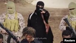 Militan ISIS di Ethiopia dan para sandera (foto: ilustrasi).