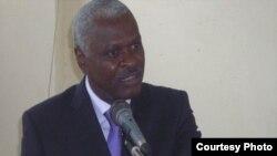 José Cardoso Cassandra (Tozé Cassandra) presidente do governo autónomo da ilha do Príncipe em São Tomé e Príncipe
