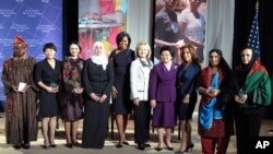 Women of Courage Awards, March 8 2011.