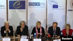 Представители ОБСЕ. Архивное фото, Киев 2012г.