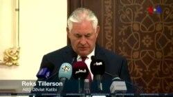 Tillerson Körfəz böhranını aradan qaldırmaq məqsədilə Qatara səfər edib
