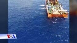 VN: Tàu Hải Dương 8 của TQ đã ngừng hoạt động