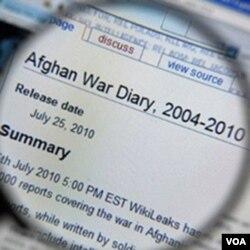 Salah satu yang dipublikasikan WikiLeaks dalam laman web-nya.