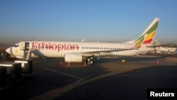 Самолет Боинг-737 авиакомпании Ethiopian Airlines (архивное фото)