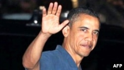 Обама возвращается из отпуска