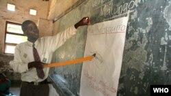 Dans une classe au Malawi, le 24 avril 2017.