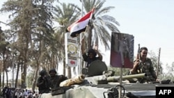 სირიის უშიშროების ძალებმა ქალაქი ჰამა დაიკავეს