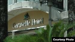Khách sạn Caravelle ngày 9 tháng 8, 2012. Hình: Trần Đăng Chí