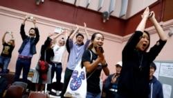 VOA连线(海彦):香港区议会选举民主派大胜