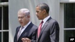 Shugaban Amurka Barack Obama da PM Isra'ila Benjamin Netanyahu