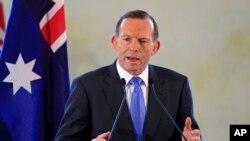 Thủ tướng Tony Abbot nói nhóm Nhà nước Hồi giáo đề ra mối đe dọa không chỉ với người dân Trung Ðông, mà cả thế giới, trong đó có Australia.