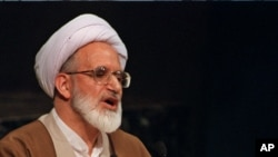 Iranian opposition leader Mehdi Karoubi (file photo)