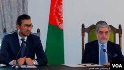 عبدالله عبدالله او د افغانستان د ولسي جرگې رئیس