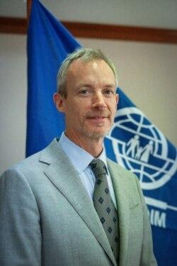 Kepala Misi Organisasi Migrasi Internasional Louis Hoffman. (Foto: Courtesy/IOM)