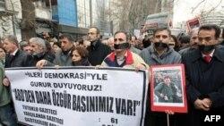 Բողոքի ցույցեր Թուրքիայում` ընդդեմ լրագրողների ձերբակալությունների