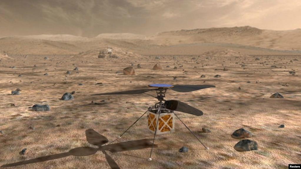 NASA to Send Tiny Helicopter to Mars