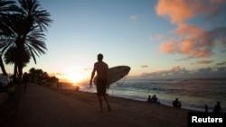 سواحل هاوایی در اقیانوس آرام