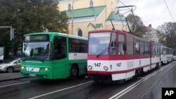 На одной из улиц Таллинна (архивное фото)