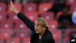L'entraîneur Français Claude Le Roy.
