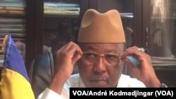 Ahmat Mahamat Bachir, ministre de la Sécurité, N'Djamena, Tchad, 2 février 2018. (VOA/ André Kodmadjingar)