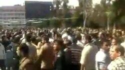 نیروهای امنیتی سوریه شهر درعا را بستند