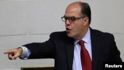 Julio Borges, presidente de la Asamblea Nacional de Venezuela, dice que la OEA rechazará cambio de la Constitución.