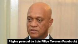 Luís Filipe Tavares, ministro dos Negócios Estrangeiros e da Defesa de Cabo Verde