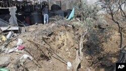 4月7日以色列对加沙地带发动空袭