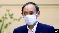 日本首相菅義偉。