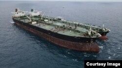 Salah satu kapal yang disita oleh Bakamla RI hari Minggu 24/1 (Courtesy: Bakamla RI).