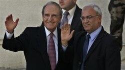 گزارش: گفتگوهای جرج میچل با رهبران اسراییل و فلسطینیان همچنان ادامه دارد