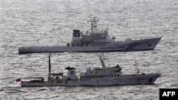 Японські судна берегової охорони