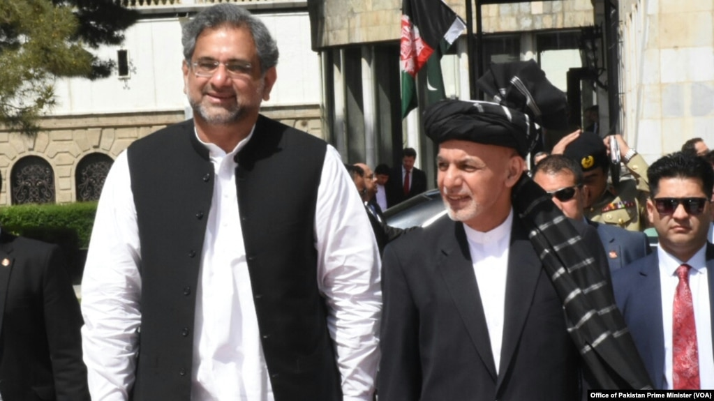 Image result for Pakistani PM Abbasi arrived in Afghanistan on Friday