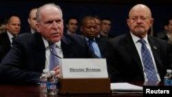 جان برنن، رئیس CIA حین گزارشدهی در کانگرس امریکا