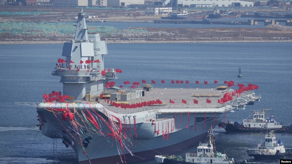 Image result for China launches its second aircraft carrier
