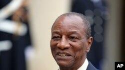 Le président guinéen, Alpha Condé, souhaite un dialogue avec l'opposition (AP)