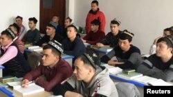 Wata makarantar Islamiyya a yankin Uighur