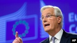 Мішель Барньє, головний представник ЄС на переговорах з Британією про її вихід з організації
