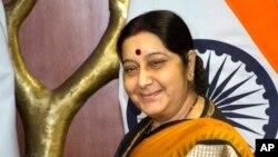 အိႏၵိယႏုိင္ငံျခားေရး၀န္ႀကီးေဟာင္း Sushma Swaraj